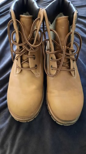 Landrover Lace-up Boots sand brown