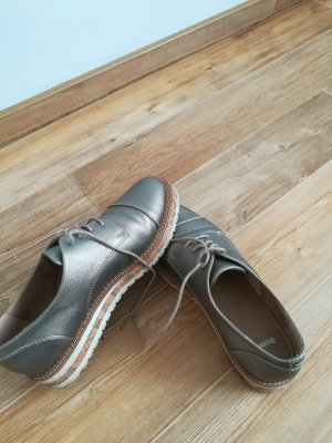 Bench Lace Shoes silver-colored-light grey