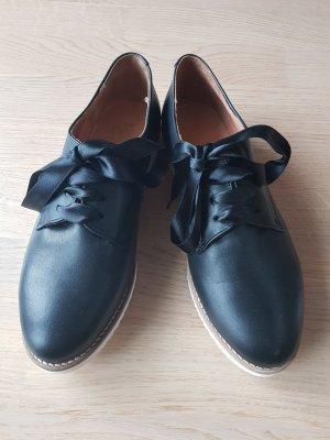 Apple of eden Lace Shoes white-black