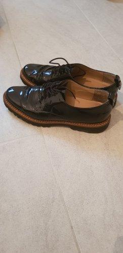 Sioux Sznurowane buty czarny