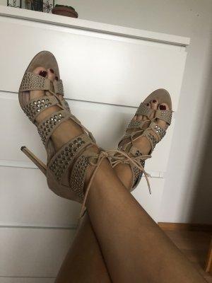 Schnürr-Sandalette