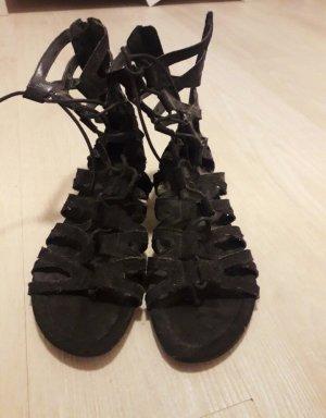 keine Marke Roman Sandals black