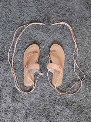 Asos Sandały rzymskie jasnobrązowy-beżowy