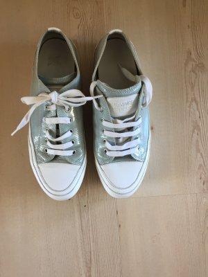 Candice Cooper Lace Shoes pale blue