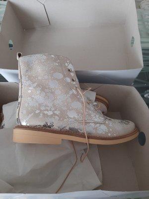 Heine Lace Shoes oatmeal
