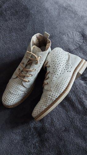Rieker Lace Shoes silver-colored