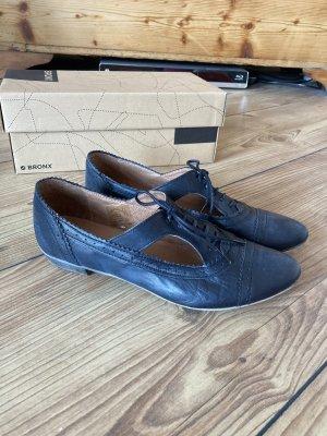 Bronx Scarpa stringata blu scuro