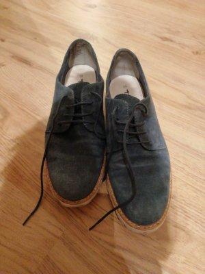 Tamaris Chaussures à lacets gris ardoise