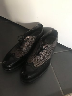 Alberto Guardiani Lace Shoes black-black brown