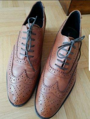 Belmondo Sznurowane buty brązowy