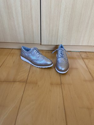 Timberland Oxfords silver-colored-grey