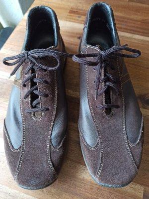Rieker Sznurowane buty brązowy