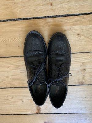 Tamaris Zapatos brogue negro