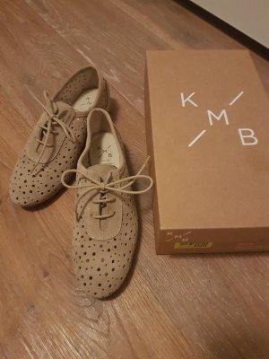 KMB Lace Shoes light brown-beige