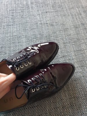 Schnürschuhe/ schicke Schuhe/ Lackschuhe/ Unisa Schuhe/ Plateauschuhe