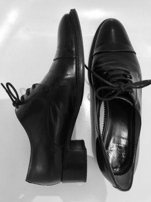 Truman's Scarpa stringata nero Pelle