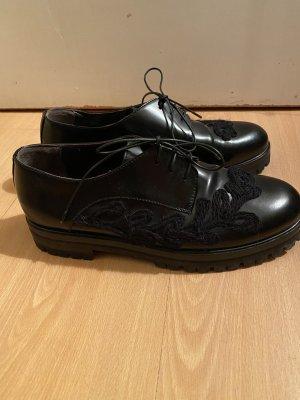 Attilio giusti leombruni Sznurowane buty czarny