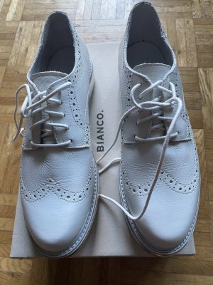 Bianco Lace Shoes white-silver-colored