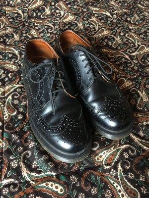 Dr. Martens Lace Shoes black leather