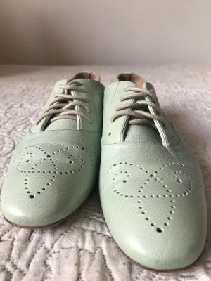 Fratelli rossetti Lace Shoes mint leather