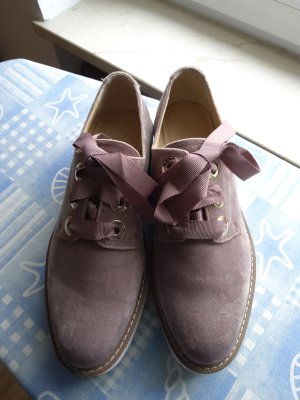 Zara Lace Shoes dusky pink