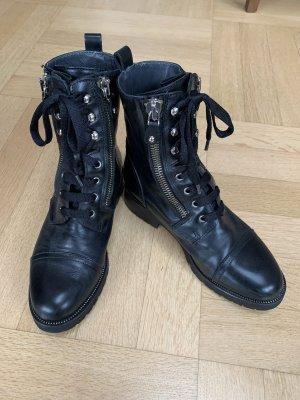 Lav. Artigiana Aanrijg laarzen zwart