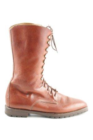 Aanrijg laarzen licht Oranje klassieke stijl