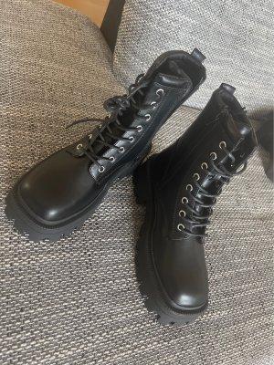 Asos Lace-up Boots black