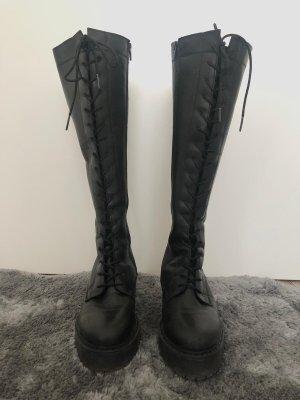 Zign Bottes à lacets noir