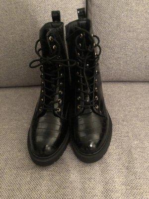 Dorothy Perkins Bottines à lacets noir