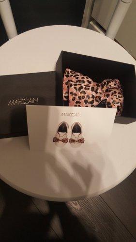 Marc Cain Chaussures à lacets noir-rose