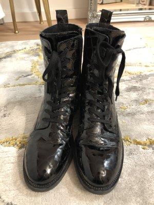 Cox Bottes à lacets noir