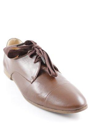 Scho Shoes Milano Schnürschuhe braun klassischer Stil