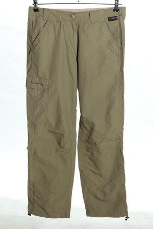 Schöffel Pantalon cargo kaki style décontracté