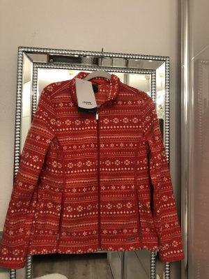 Schöffel Fleece Jackets bright red
