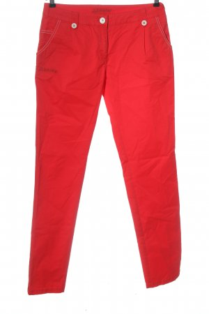 Schöffel Low-Rise Trousers red casual look