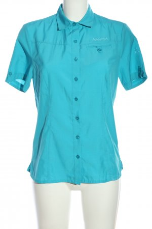 Schöffel Kurzarmhemd blau Casual-Look
