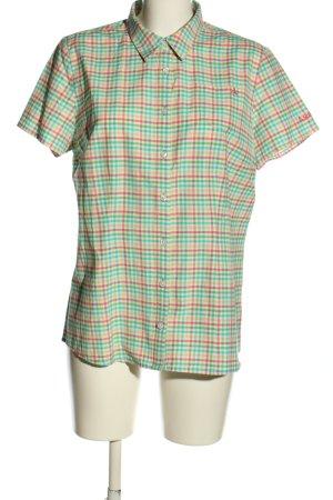 Schöffel Chemise à manches courtes motif à carreaux style décontracté