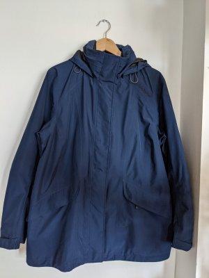 Schöffel Outdoor-Jacke in Dunkelblau