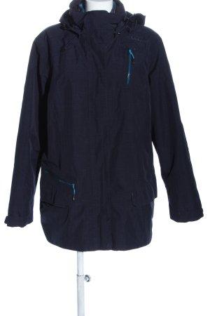 Schöffel Kurtka outdoor niebieski W stylu casual