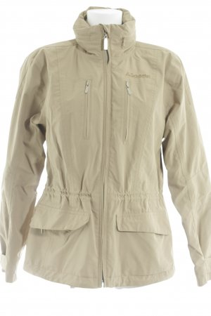 Schöffel Outdoor Jacket sand brown simple style