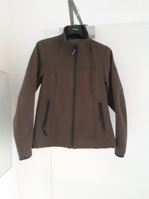 Schöffel Veste softshell brun noir polyester
