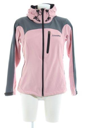 Schöffel Softshell Jacket pink-light grey casual look
