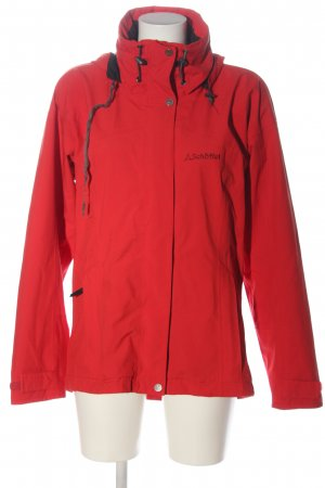 Schöffel Sports Jacket red embroidered lettering casual look