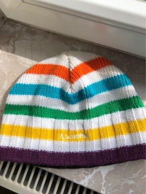 Schöffel Chapeau en tricot multicolore