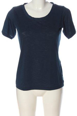 Schöffel Camiseta azul moteado look casual