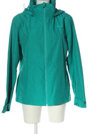 Schöffel Between-Seasons Jacket turquoise casual look
