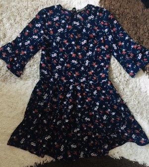 Zara Basic Abito blusa camicia multicolore