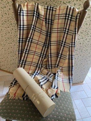 Burberry London Sjaal met franjes veelkleurig