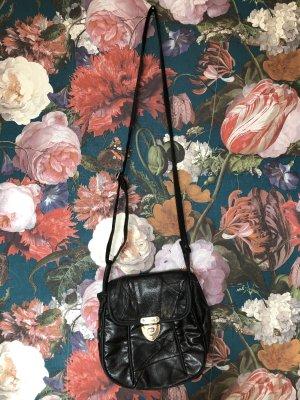 Schön schwarze Vintage Handtasche